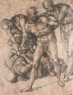 Study of Nudes | Luca Signorelli | Oil Painting