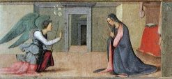 Annunciation | Mariotto Albertinelli | Oil Painting