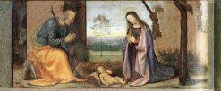 Birth of Christ | Mariotto Albertinelli | Oil Painting