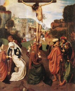 Crucifixion | Master of the Virgo inter Virgines | Oil Painting