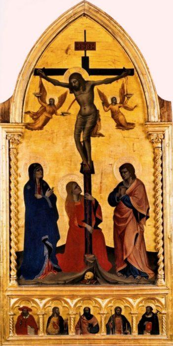 Crucifixion | Nardo di Cione | Oil Painting