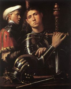 Warrior with Equerry | Paolo Morando | Oil Painting