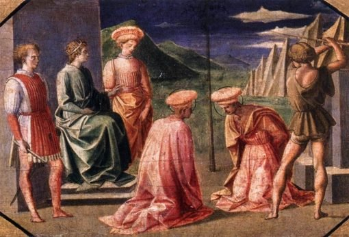 The Beheading of Saints Cosmos and Damian | Pesellino | Oil Painting