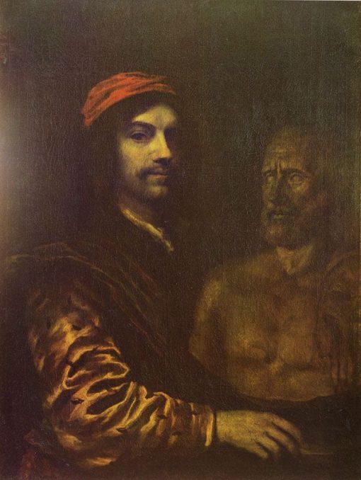 Self Portrait   Philips Koninck   Oil Painting