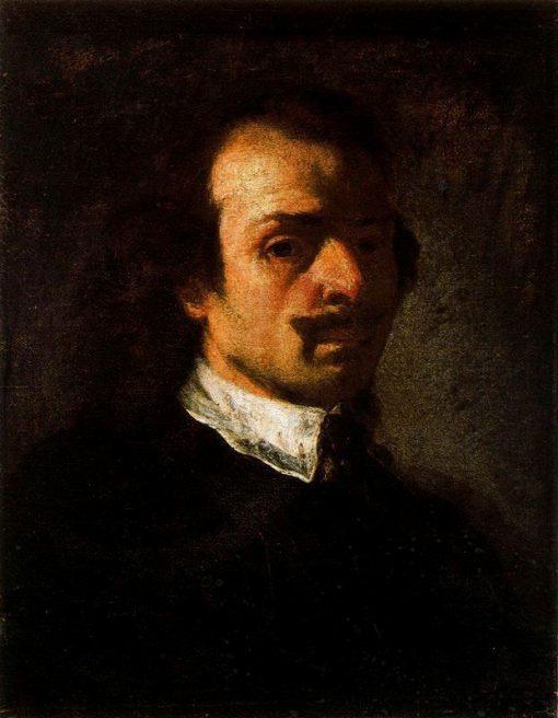 Self-Portrait | Pier Francesco Mola | Oil Painting