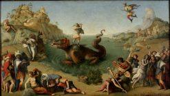 Perseus Rescuing Andromeda | Piero di Cosimo | Oil Painting