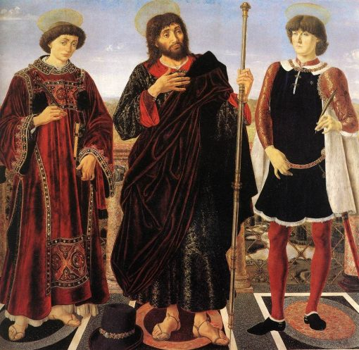Altarpiece with Three Saints | Piero Pollaiuolo | Oil Painting