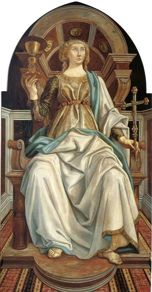 Faith | Piero Pollaiuolo | Oil Painting