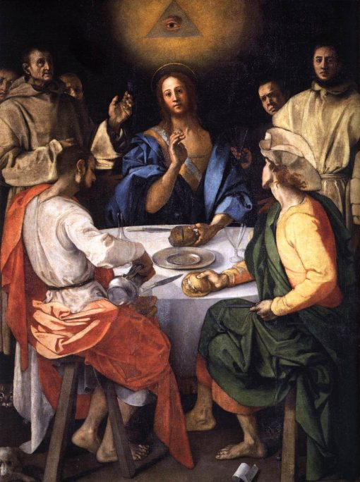 Supper at Emmaus | Pontormo | Oil Painting
