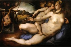 Venus and Cupid | Pontormo | Oil Painting