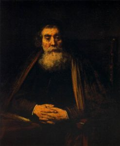 Portrait of an Old Man | Rembrandt van Rijn | Oil Painting
