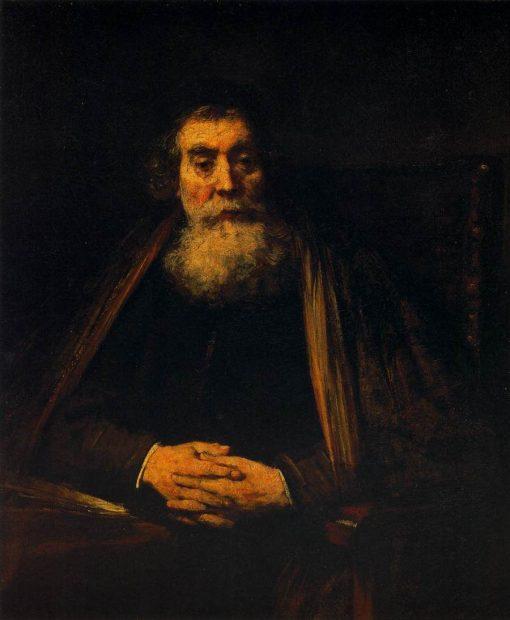 Portrait of an Old Man | Rembrandt van Rijn | Oil Painting