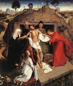 Entombment of Christ | Rogier van der Weyden | Oil Painting