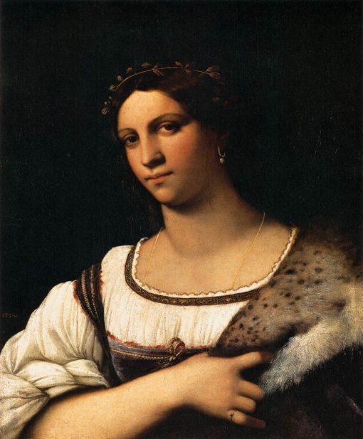 Portrait of a Woman | Sebastiano del Piombo | Oil Painting