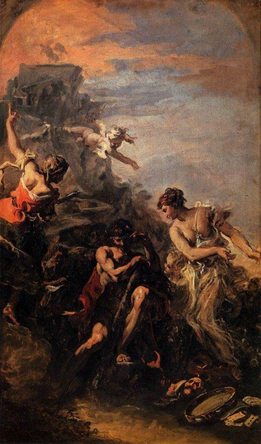 Hercules at the Crossroad | Sebastiano Ricci | Oil Painting