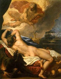 Dionysus(also known as Birth of Dionysus) | Sebastiano Ricci | Oil Painting