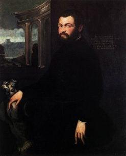 Portrait of Jacopo Sansovino | Tintoretto | Oil Painting