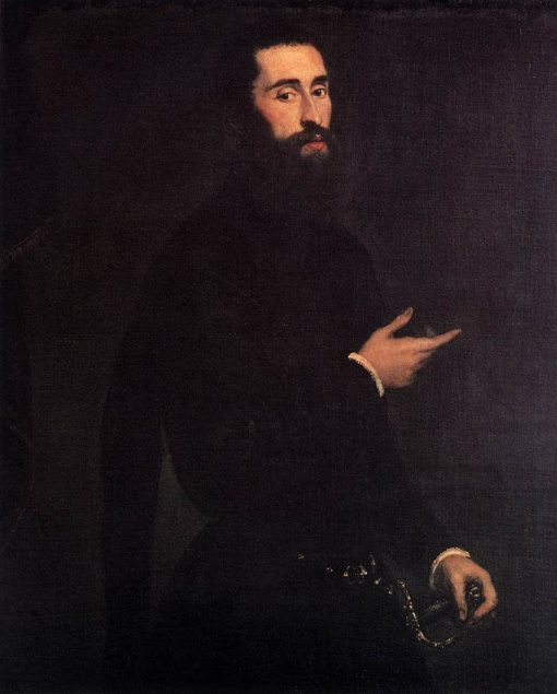 Portrait of a Genoese Gentleman | Tintoretto | Oil Painting