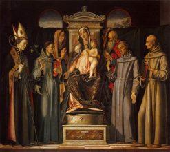 Sacra Conversazione | Alvise Vivarini | Oil Painting