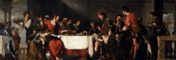 Banquet at the House of Simon | Bernardo Strozzi | Oil Painting