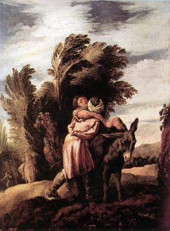 The Parable of the Good Samaritan | Domenico Fetti | Oil Painting