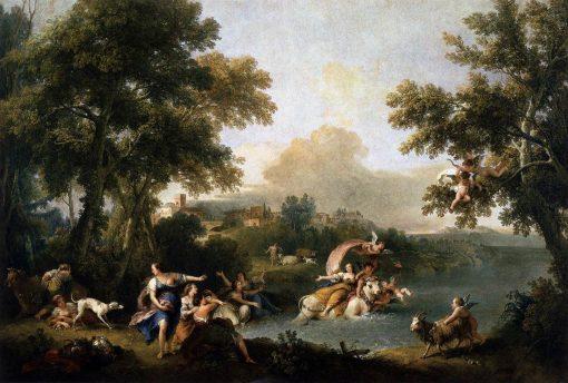 Rape of Europa | Francesco Zuccarelli | Oil Painting