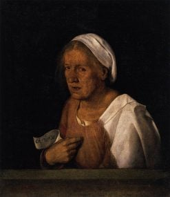 Portrait of an Old Woman | Giorgione | Oil Painting