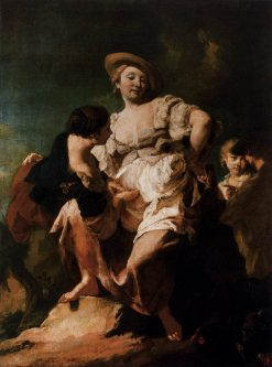 The Soothsayer | Giovanni Battista Piazzetta | Oil Painting
