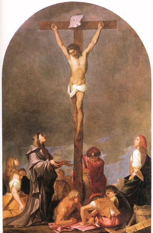 Crucifixion | Giulio Carpioni | Oil Painting