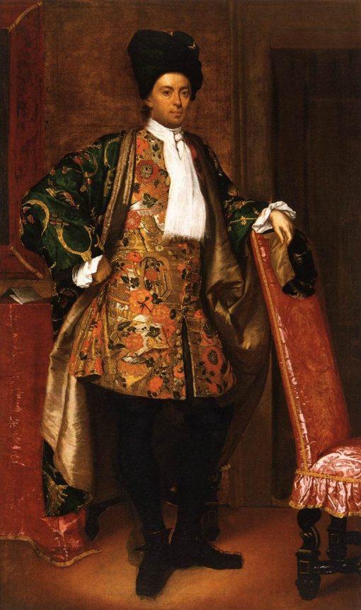 Portrait of Count Giovanni Battista Vailetti | Giuseppe Ghislandi | Oil Painting