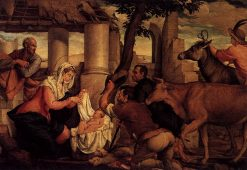 Adoration of the Shepherds | Jacopo Bassano | Oil Painting