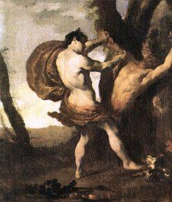 Apollo and Marsyas | Johann Liss | Oil Painting
