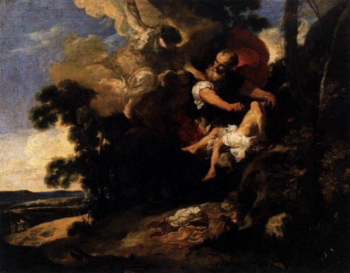 The Sacrifice of Isaac   Johann Liss   Oil Painting