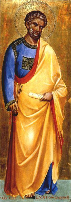 Saint Peter | Lorenzo Veneziano | Oil Painting