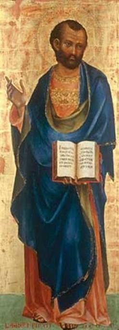 Saint Mark | Lorenzo Veneziano | Oil Painting