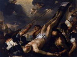 Crucifixion of Saint Peter | Luca Giordano | Oil Painting