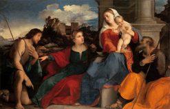 Sacred Conversation | Palma il Vecchio | Oil Painting