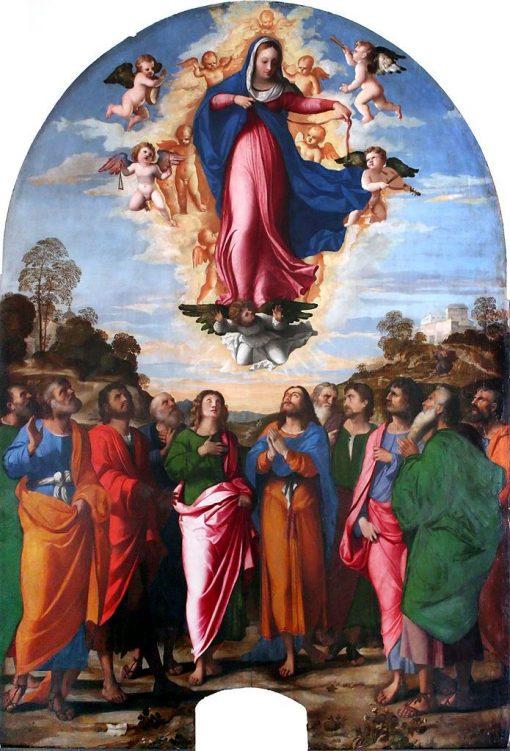 Assumption of the Virgin | Palma il Vecchio | Oil Painting