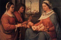 Sacra Conversazione | Sebastiano del Piombo | Oil Painting
