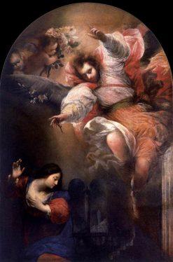 Annunciation | Sebastiano Mazzoni | Oil Painting
