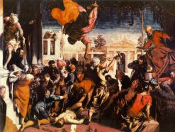 Miracle of the Slave | Tintoretto | Oil Painting