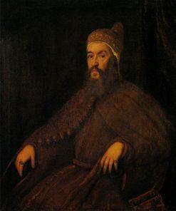 Portrait of Doge Alvise Mocenigo | Tintoretto | Oil Painting