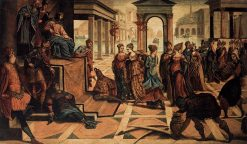 Solomon and the Queen of Sheba | Tintoretto | Oil Painting