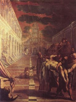 The Body of Saint Mark Brought to Venice | Tintoretto | Oil Painting