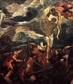 Saint Mark Rescuing a Saracen from Shipwreck | Tintoretto | Oil Painting