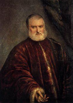 Portrait of Procurator Antonio Cappello | Tintoretto | Oil Painting