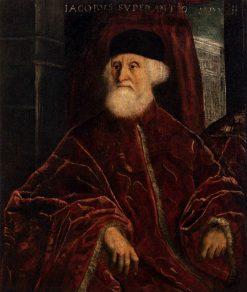 Portrait of Procurator Jacopo Soranzo | Tintoretto | Oil Painting