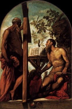 Saints Jerome and Andrew | Tintoretto | Oil Painting
