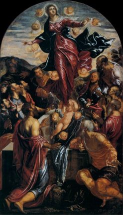 The Assumption of the Virgin | Tintoretto | Oil Painting