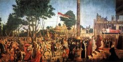 The Martyrdom of the Pilgrims and the Funeral of Saint Ursula | Vittore Carpaccio | Oil Painting
